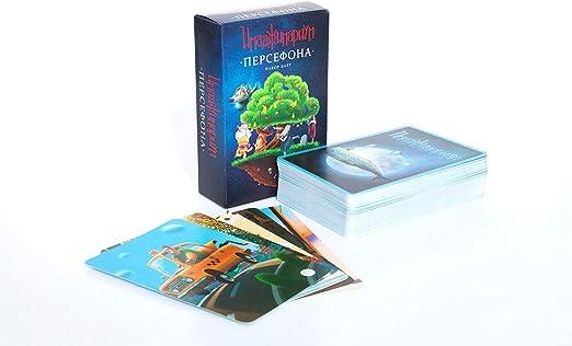 Juego Adicional de 98 Tarjetas Perséphone para Juego de Mesa Ruso Imaginarium Dixit: Amazon.es: Juguetes y juegos