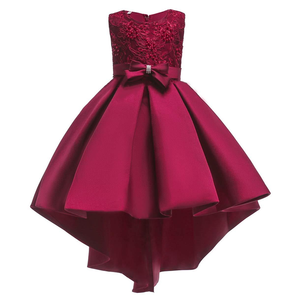 Vestiti Eleganti Bambina 12 Anni.Bambine E Ragazze Abbigliamento Obeeii Abito Da Principessa Con