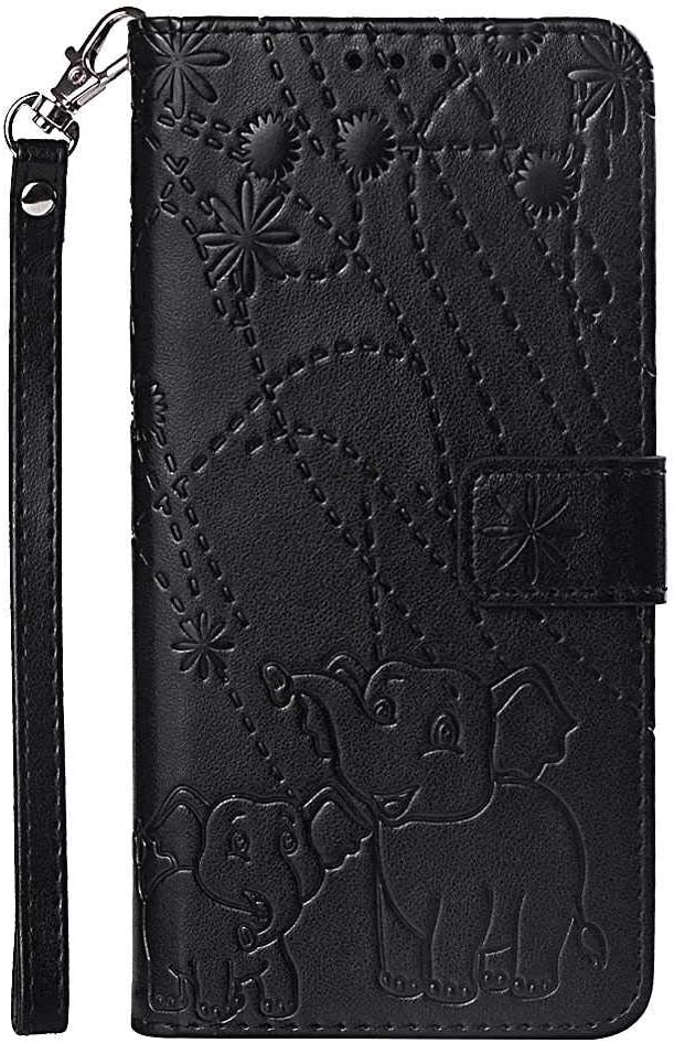 Leather Flip Case for iPhone 11 Pro Business Gifts Wallet Cover Compatible with iPhone 11 Pro with Universal Underwater Waterproof Case
