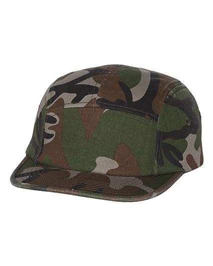 Amazon.com  Yupoong Jockey Flat Bill - Army Camo  Clothing 94699fd2cb4