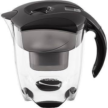 mavea 1001125 elemaris xl wasserfilter pitcher schwarz: amazon.de ... - Wasserfilter Küche