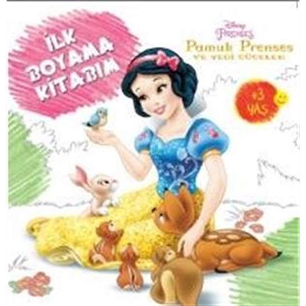 Disney Ilk Boyama Kitabim Pamuk Prenses Kolektif 9786050927702