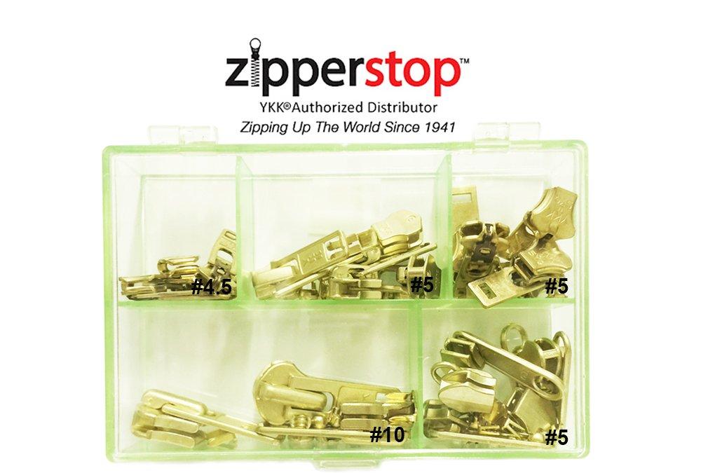 #5 Brass Bottom Stops Pack of 10 New!