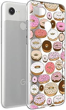 Zhuofan Coque Google Pixel 3a Etui En Silicone 3d Transparente Avec Motif Dessin Antichoc Souple Tpu Gel Housse De Protection Case Cover Bumper Coque