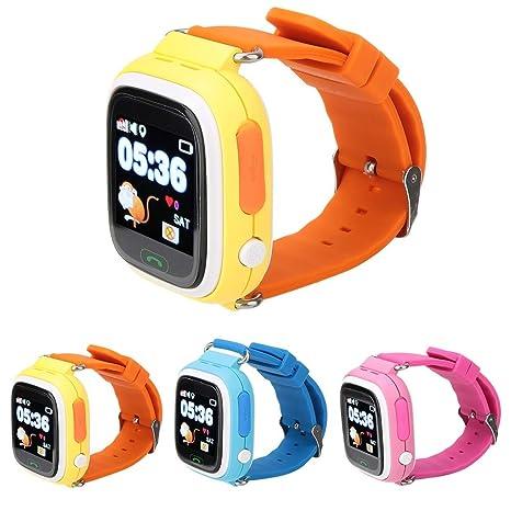 Amazon.com: Wolfgo Smartwatch-Q90 Children Calling Watch ...