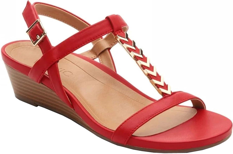 Vionic Women's Cali Red 11 W US B0721844KK Parent