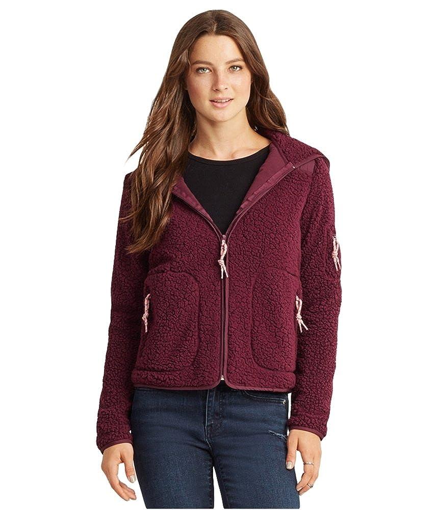 Aeropostale Womens Bear Fleece Jacket 1140