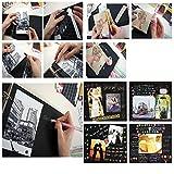 Photo Album,MAMACHU DIY Retro Photo Book Scrapbook