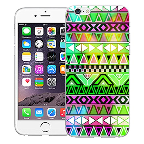 "Mobile Case Mate iPhone 6S Plus 5.5"" Silicone Coque couverture case cover Pare-chocs + STYLET - Mountain pattern (SILICON)"