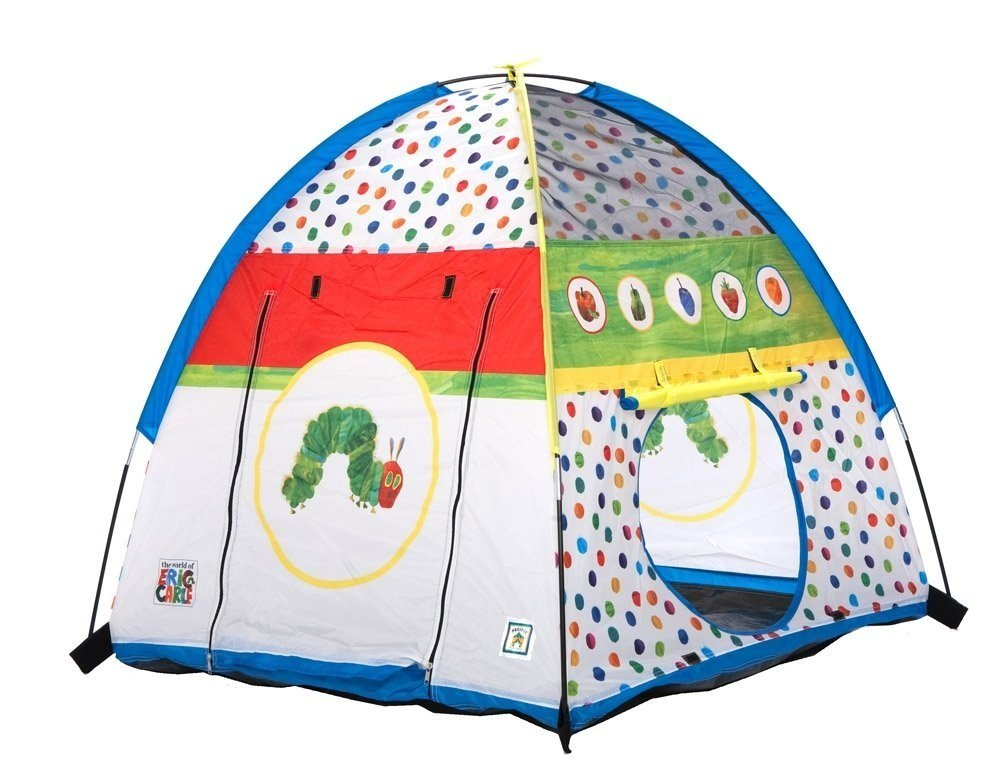 Pacific Play Tents Very Hungry Caterpillar Tent #72032 + Facial Hair Remover Spring