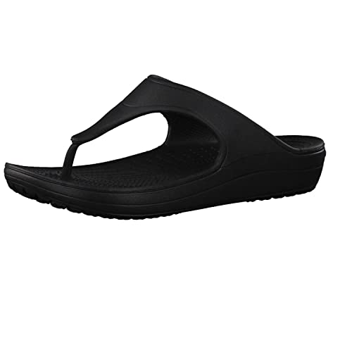 Crocs Sloan Platform Flip W Sandali Donna con Plateau e Zeppa amazon-shoes neri Entrega Rápida A La Venta jQ90Cih