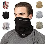 Terra Kuda Face Clothing Neck Gaiter Mask – Non Slip Light Breathable for Sun Wind Dust Bandana Balaclava