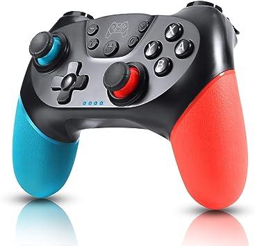 Zexrow Mando para Nintendo Switch, Mando Pro Controller Mando pc ...