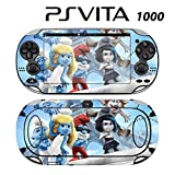 Decorative Video Game Skin Decal Cover Sticker for Sony PlayStation PS Vita (PCH-1000) - The Smurfs