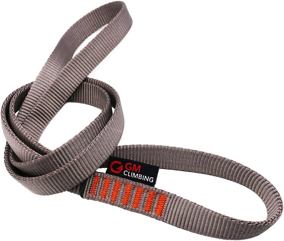 Gray GM CLIMBING Pack of 3 16mm Nylon Sling Runner 48inch 120cm
