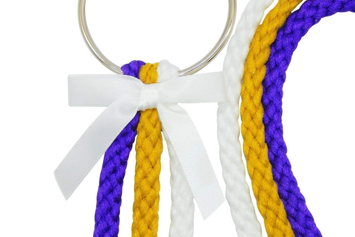 A Cord of Three Strands It Includes The Pastors Reading 6mm White Gold Purple