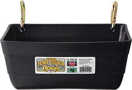 giant feeders black fence little inch amazon clips with feeder dp chain com and