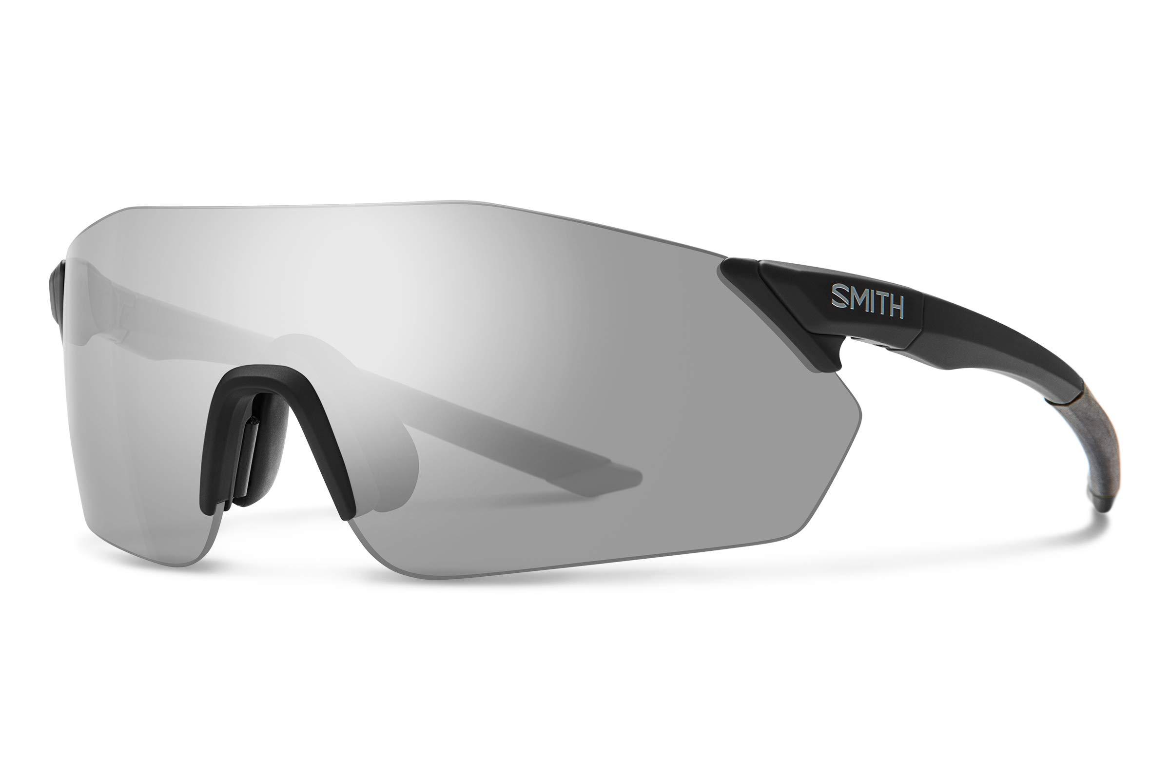 Smith Reverb Chromapop Sunglasses, Matte Black, Chromapop Platinum/Contrast Rose