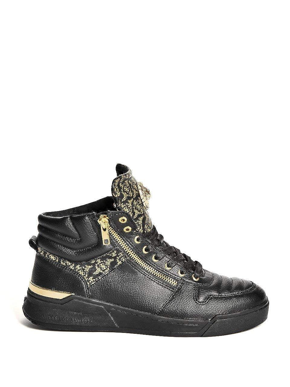 Guess Sneakers En Cuir Fm6knl Lea12 Knight Jeans pas