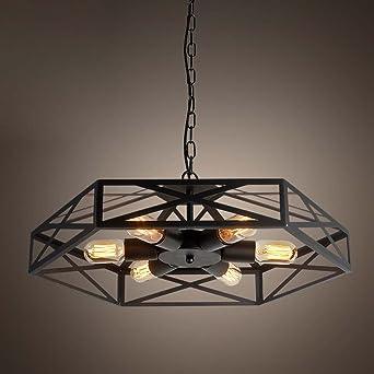 Industriel Suspension Lampe Lustre Baycheer Forme Ventilateur wk0On8P