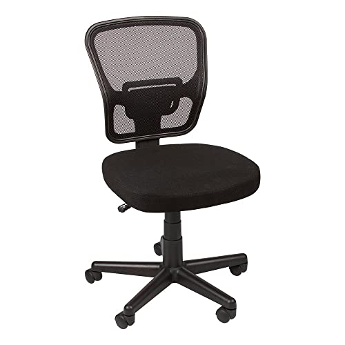 Norwood Commercial Furniture Economy Mesh Back Task Chair, Black, NOR-IAH1043-SO