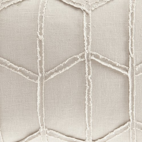 Harbor House Frayed Geo Linen Oblong Dec Pillow, 14x20,