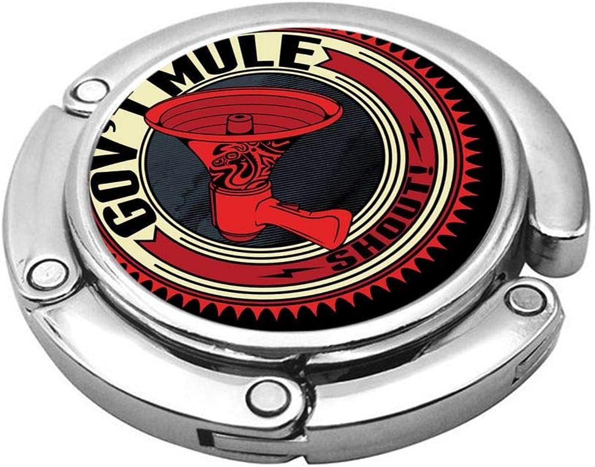 MGGPXXXI Govt Mule Portable Purse Hook Desk Bar Handbags Folding Hook