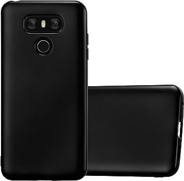 Cadorabo Funda para LG G6 en Metallic Negro – Cubierta Proteccíon ...