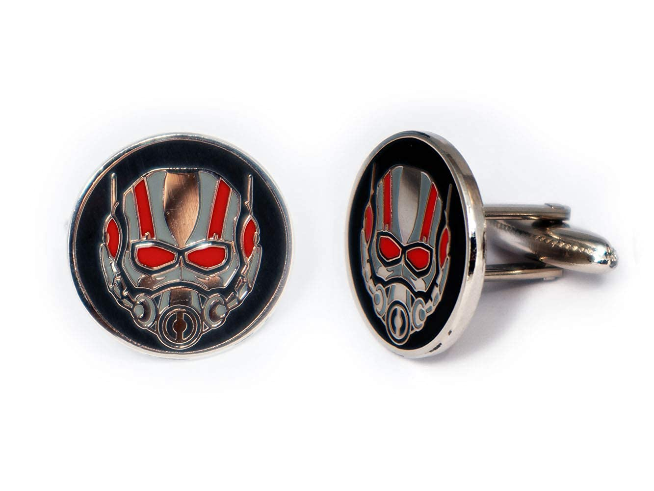 SharedImagination Ant-Man Cufflinks, The Avengers Tie Clip, Wasp Jewelry, Superhero Wedding Party and Groomsmen Gift Gifts, Geek Geeky Present Nerd Presents
