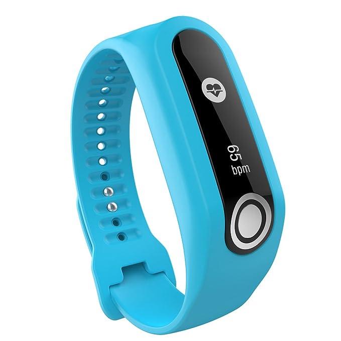 Lokeke Bracelet de rechange en silicone pour montre connectée TomTom Touch: Amazon.fr: High-tech