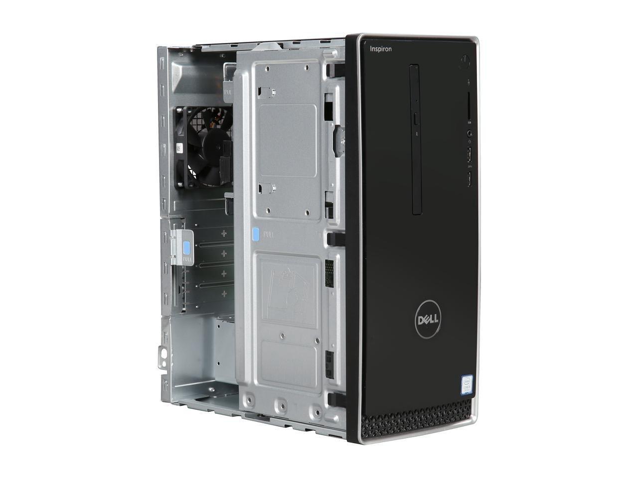 2017 Newest Dell Inspiron 3668 Premium High Performance Business Desktop - Intel Quad-Core i5-7400 3.0GHz, 16GB DDR4, 1TB HDD, DVDRW, Bluetooth, HDMI, WLAN, MaxxAudio, 5-in-1 Media Card Reader, Win 10 by Dell