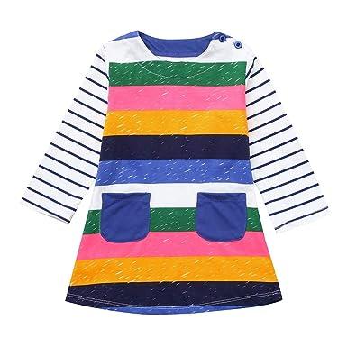 3409d490f7a Amazon.com  2-7T Kids Baby Girls Princess Dresses