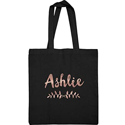 Ashlie Metallic Rose Gold Tote: Liberty Bags Canvas Tote Bag
