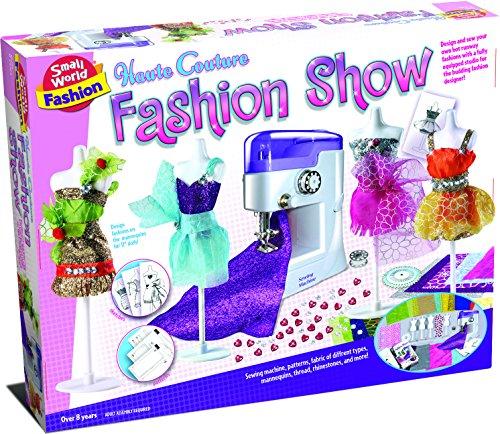 Small World Toys Fashion - Haute Couture Fashion Show Sewing Set (Haute Couture Fashion)