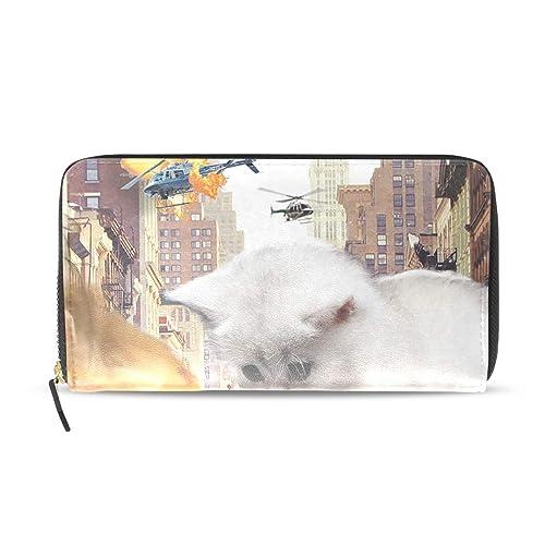 Amazon.com: Rampage - Cartera con cremallera para gatos ...