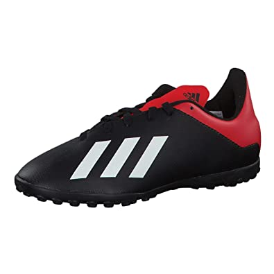 daf3fa583 Adidas X Tango 18.4 Turf, Boys' Soccer Shoes, Black 2.5 UK (35 EU ...