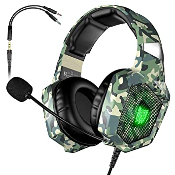 ONIKUMA Gaming Headset Ster... Updated K8 Headset Gaming for PS4 New Xbox One