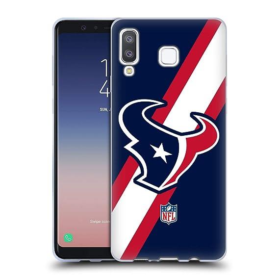f267f645 Amazon.com: Official NFL Stripes Houston Texans Logo Soft Gel Case ...
