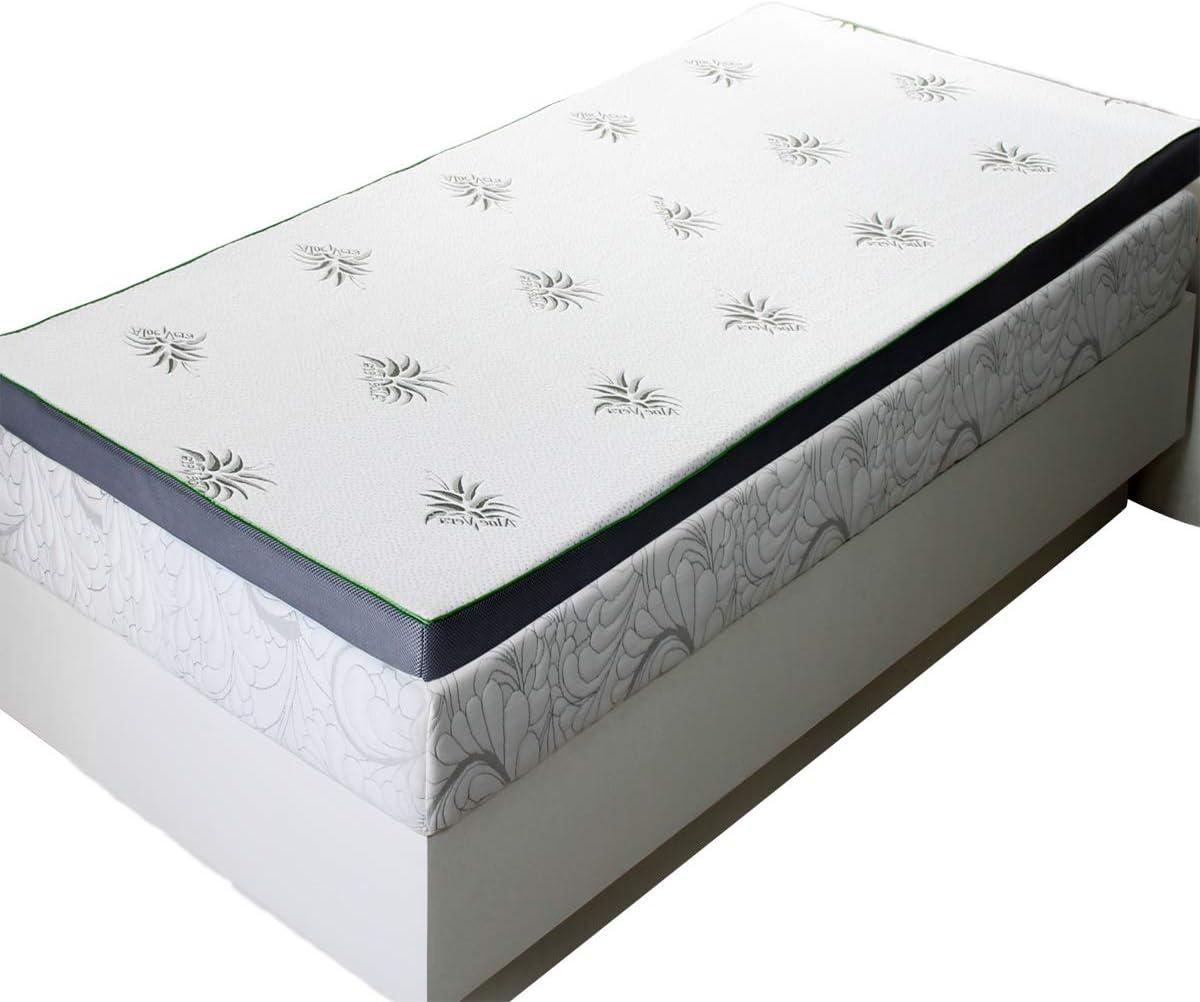 2.5 Abripedic Gel Memory Foam Mattress Topper King