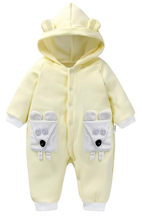 Happy Cherry - Saco de Dormir Infantil para Bebés Niñas con Capucha Cálido Pijama de Bebé