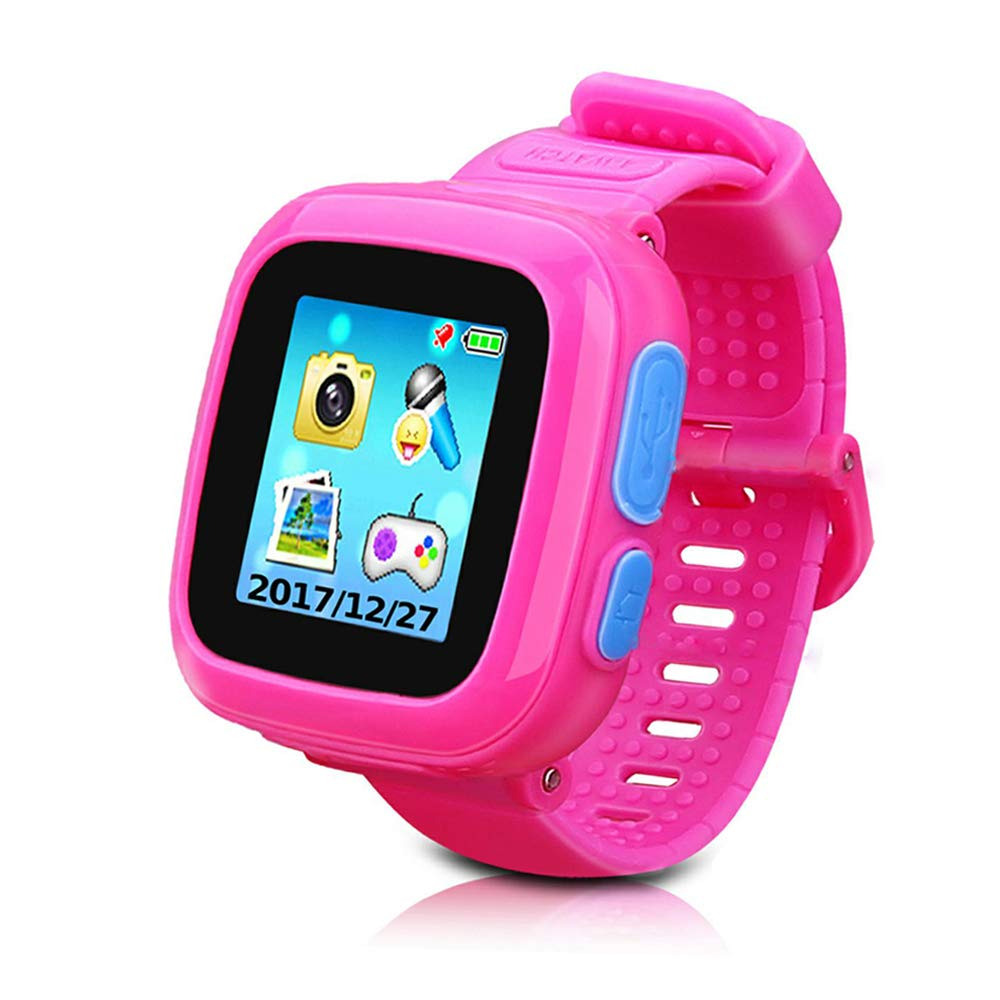 Game Smart Watch for Kids, Kids Smartwatch, Children's Camera 1.5″ Touch Screen Pedometer 10 Games Timer Alarm Clock Health Monitor Boys Girls Game Watches