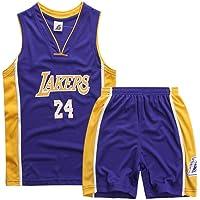 Kobe Bryant # 24 Niño Baloncesto Jersey - NBA Los Angeles Lakers Swingman Jerseys Camiseta Sin Mangas Traje