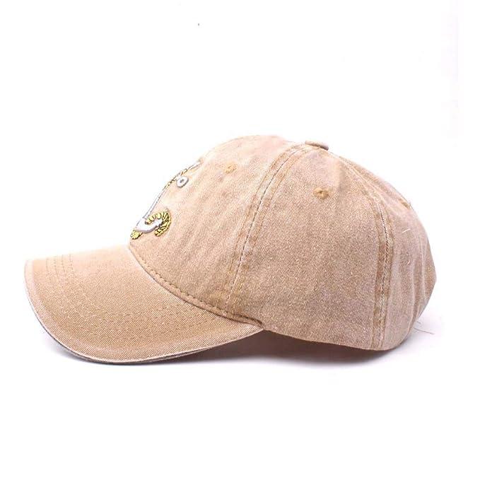 TZTED Hip Hop Gorra Béisbol Ajustable Gorras Planas para Hombre Mujer  Sombreros 9186e6489ad