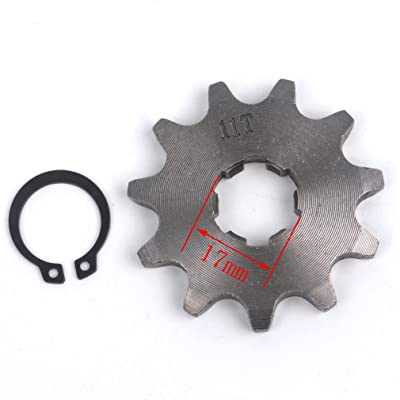 Wingsmoto Sprocket Front 420-11T 17mm Motorcycle ATV Dirtbike: Automotive [5Bkhe1015266]