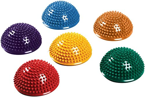 SPRI Balance Pods Hedgehog Stability Balance Trainer Dots Set of 6