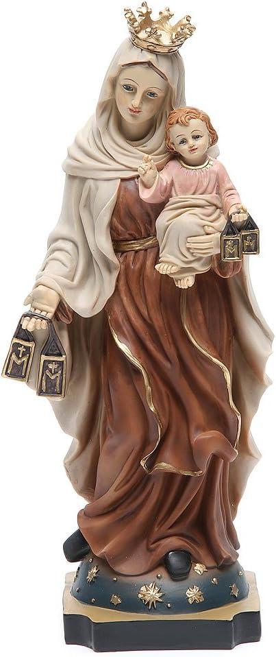 Holyart Statua Madonna del Carmine 32 cm Resina