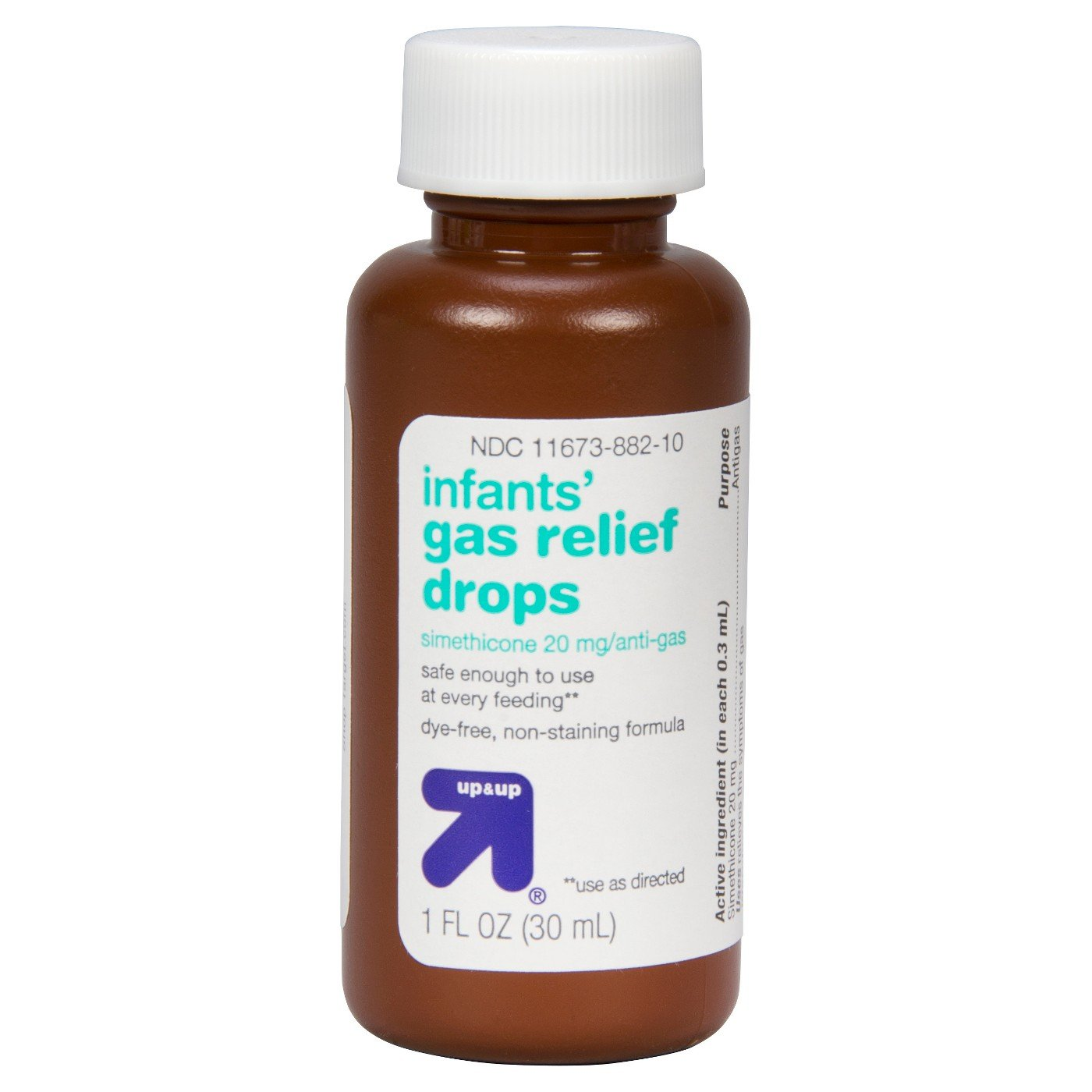 Infant gas relief drops- Up/& Up /(Compare to active ingredient in ...