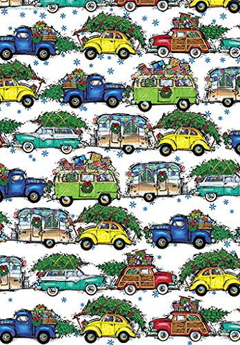 Christmas Vacation Gift Wrapping Paper Roll - 24'' X 15' by Party Explosions