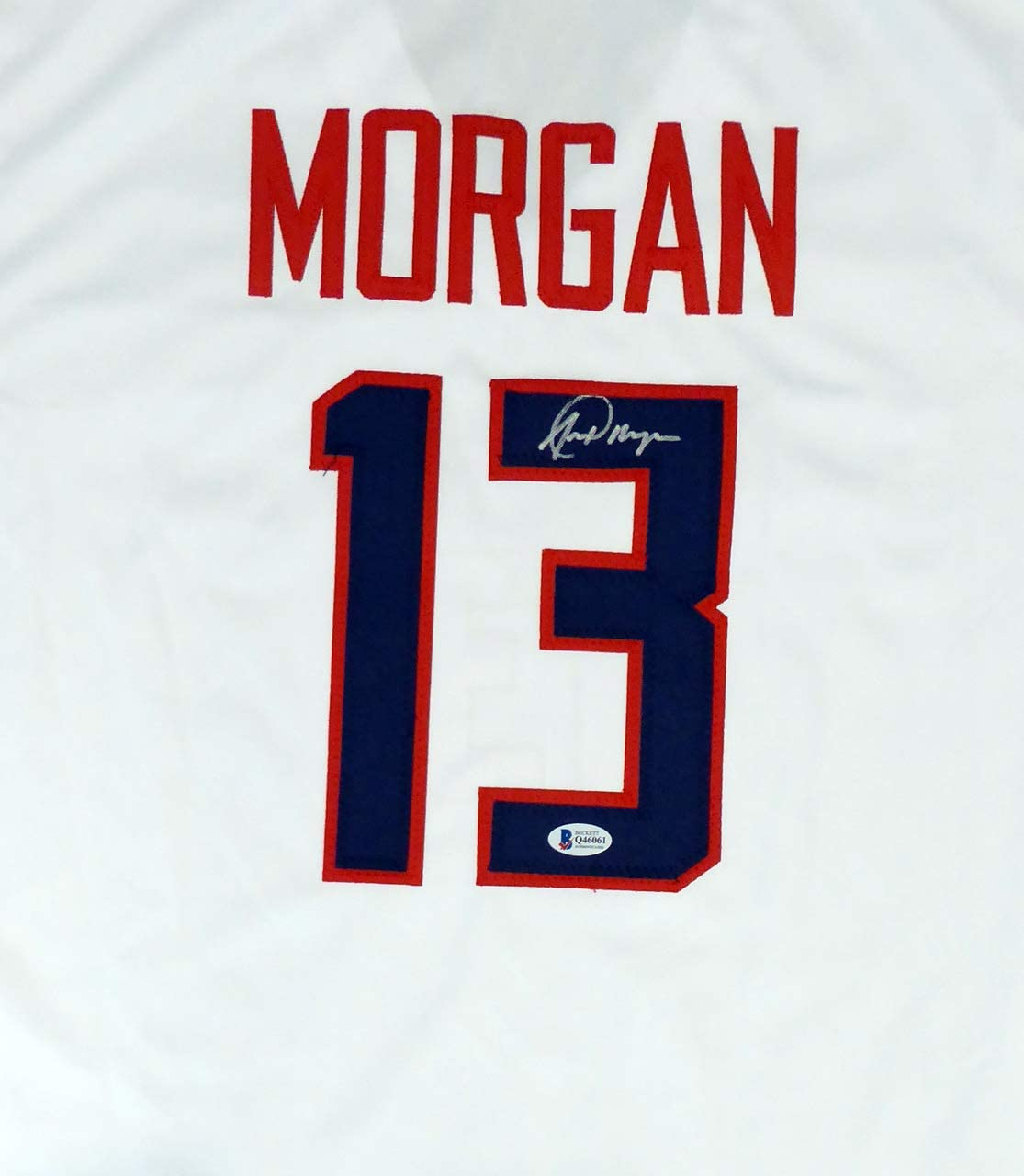 Alex Morgan Autographed White Jersey Beckett BAS