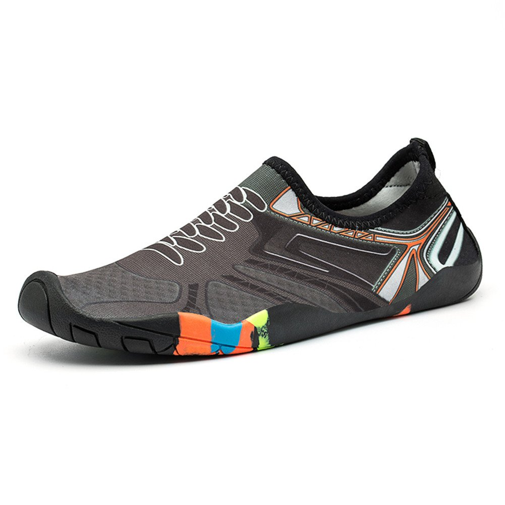 FLORENCE IISA Water Shoes for Women Men Barefoot Quick-Dry Beach Swim Shoes Aqua Socks Unisex Water Sports Shoes US 4-15 JT